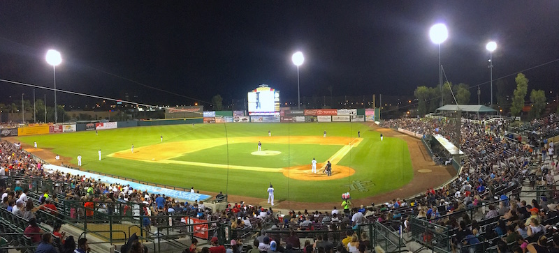 Over 3,000 attend All Star Appreciation Game at San Manuel Stadium