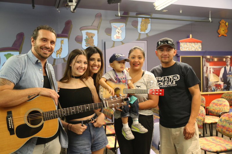 'America's Got Talent' contestants perform for pediatric patients
