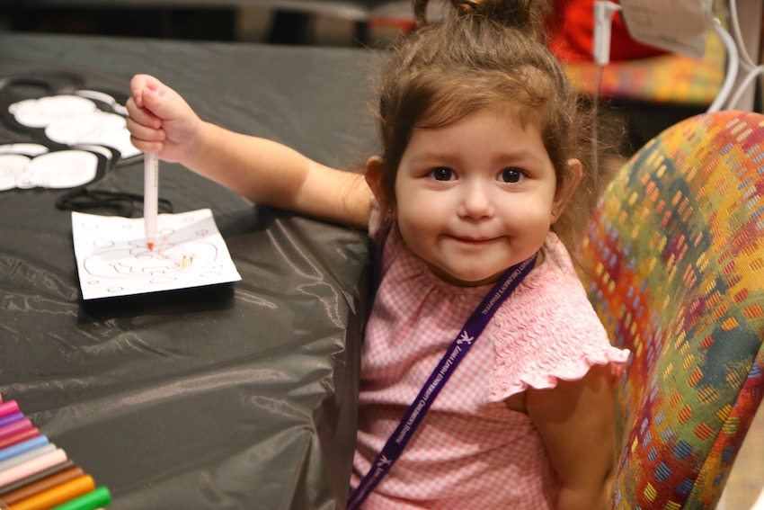 Pediatric patients get in the 'Spirit' of the season with a Fall Festival