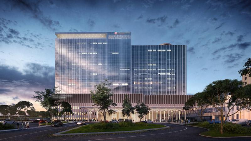 Medical Center main entrance changes to Prospect Avenue