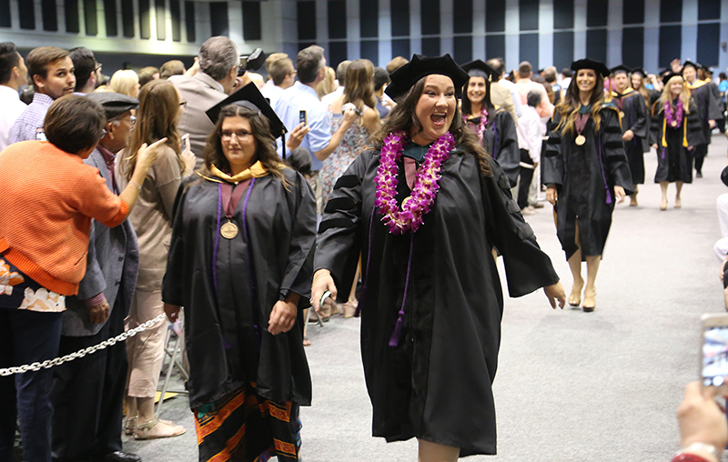 School of Allied Health Professions graduates 266 in second celebration