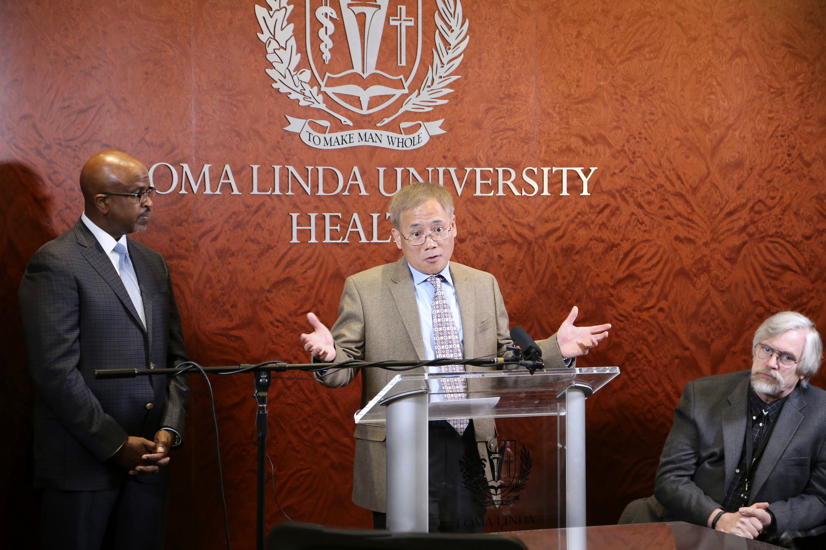 Press conference highlights $6.29 million grant for hypoxia research at the Center for Perinatal Biology at LLUSM