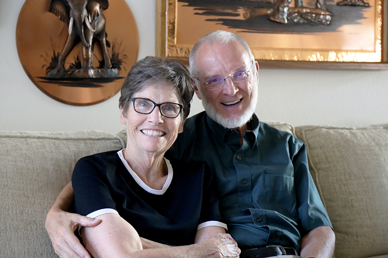 For Ken and Dee Hart, giving is a reflection of a lifelong commitment to service