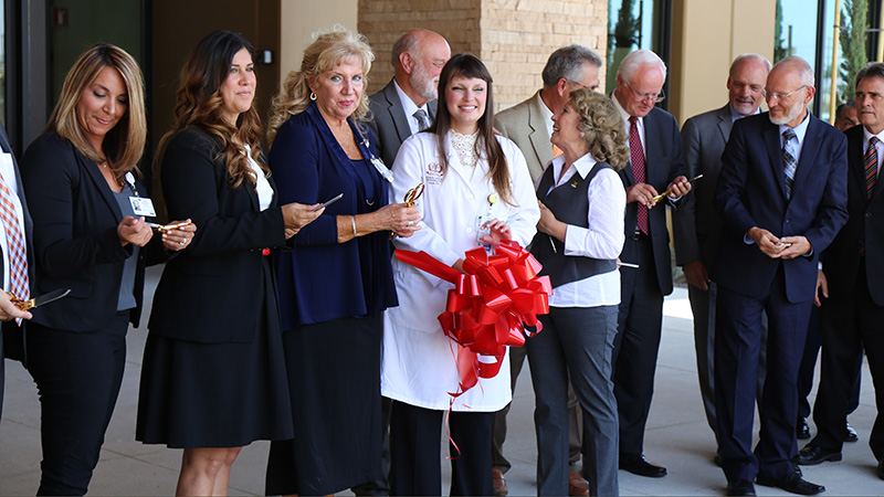 Images capture history: Ribbon cutting ceremony a joyous occasion