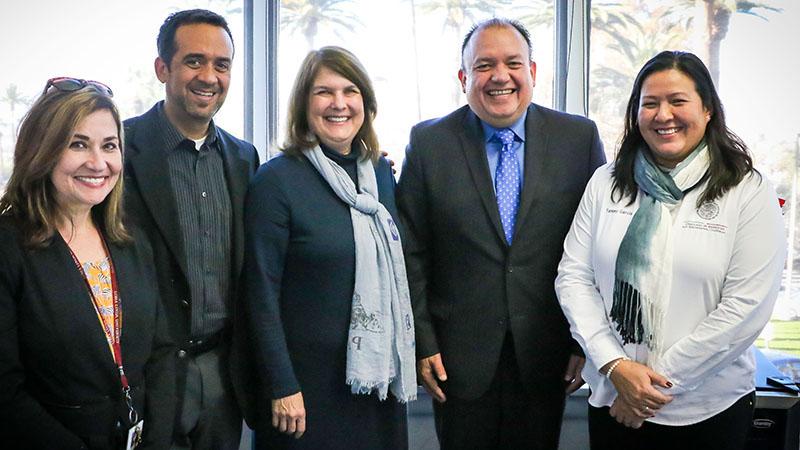 Representatives of the Consulate of Mexico, San Bernardino meet with Loma Linda University School of Public Health officials