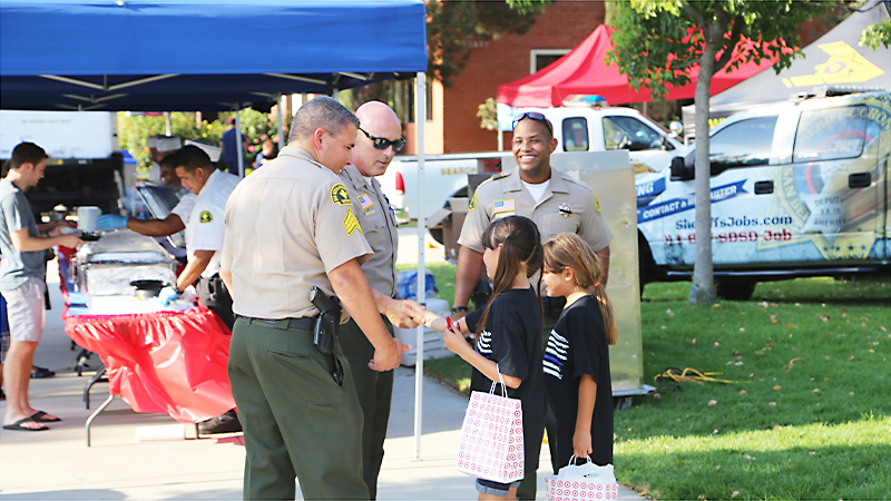 National Night Out proclaimed 'fun' by kids and 'informational' by their mother