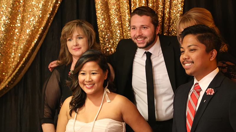 Allied health's 50th anniversary gala is a golden time