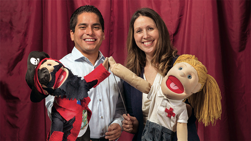 Captain Jack Snuffles and the Coughing Crew help fight asthma