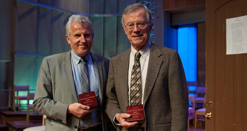 Weniger Society honors Loma Linda University figures