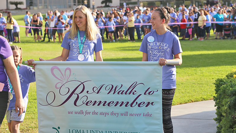 Precious babies lost too soon honored at 'A Walk to Remember'