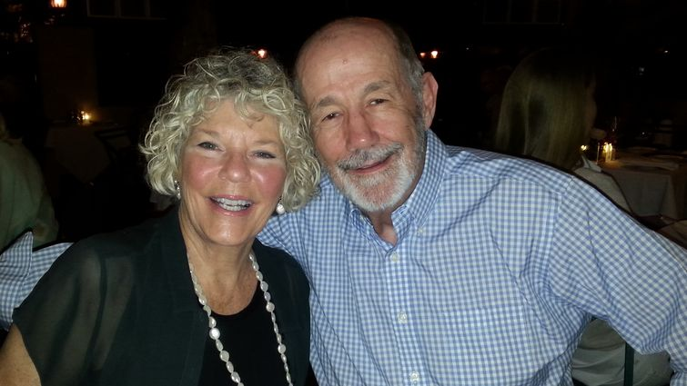 Bobby and Susie Oller dining out