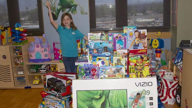 Codi Pelton toy donation