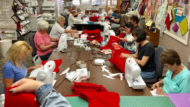 Redlands Sewing Center joins forces with hospital to create