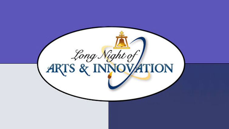 Digital flyer for Long Night of Arts & Innovation