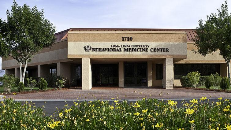 Front exterior of LLU Behavioral Medicine Center