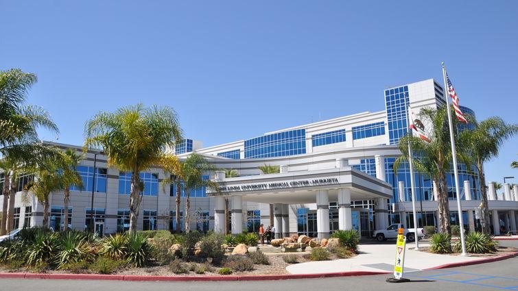 Front exterior of Loma Linda University Medical Center–Murrieta