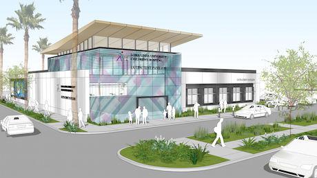 Digital rendering of Indio Pavilion