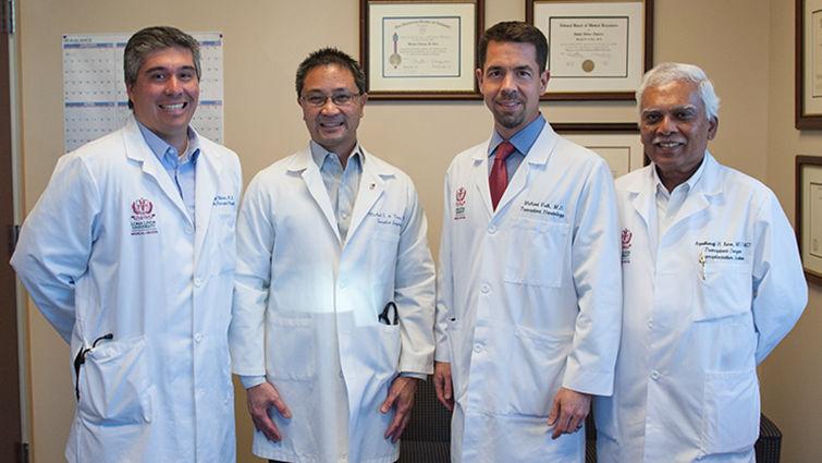 doctors take a photo