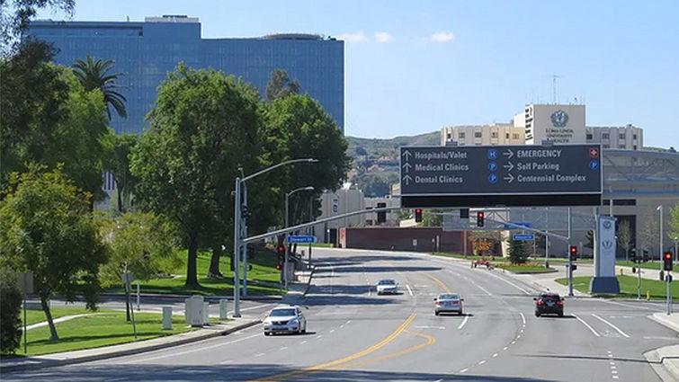 New Loma Linda University Health signage system