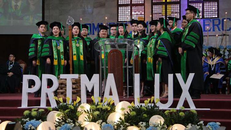 AUP Prima Lux graduates