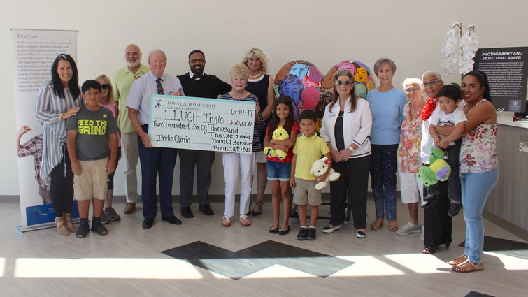 The Coeta and Donald Barker Foundation gifts $260,000 to Indio clinic