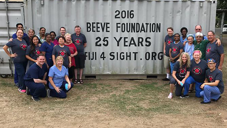 The Loma Linda University Health Beeve Foundation's 2018 medical mission team.