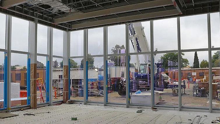 Galleria taking shape