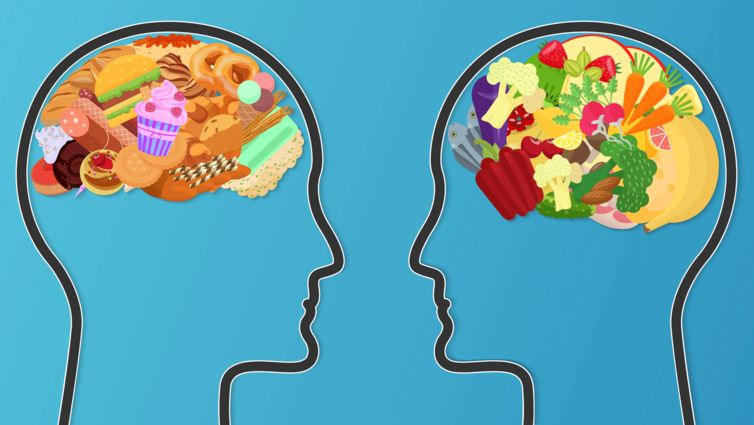 food in brain