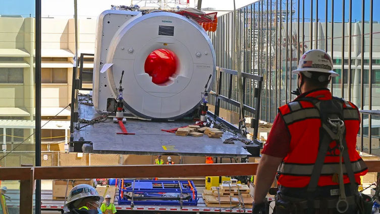 MRI Installation process