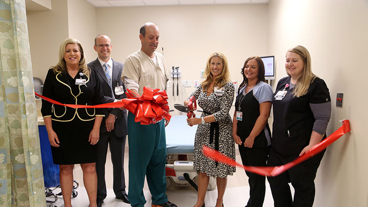 Ribbon cutting at Loma Linda University Medical Center – Murrieta to reveal five new rooms in the Emergency Department