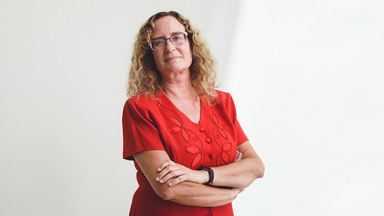 Penelope Duerksen-Hughes, PhD, associate dean for basic sciences and translational research in the School of Medicine.