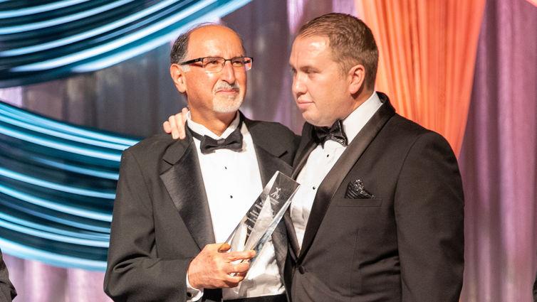 Dr. Anees Razzouk and Brooks Bailey