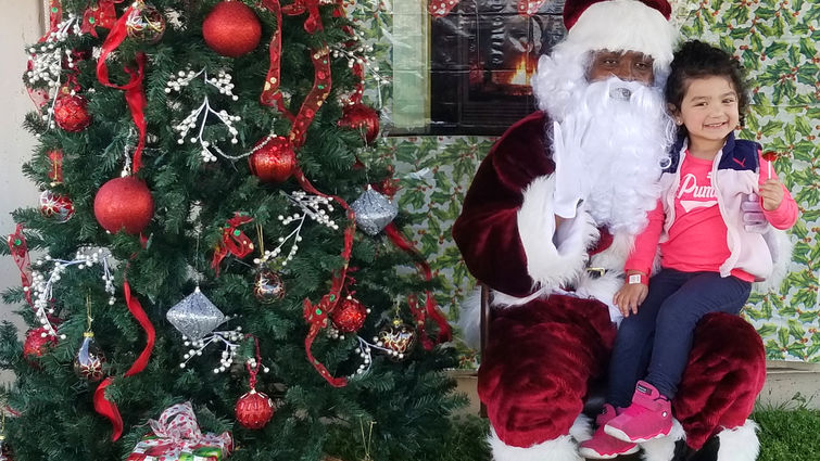Christmas Fiesta brings holiday cheer to community children