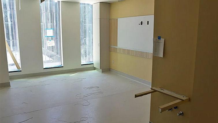 Adult Hospital ICU floors