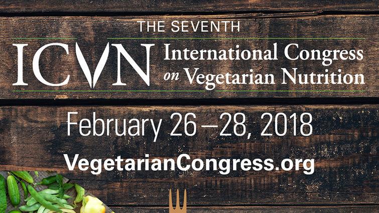 Digital Flyer for 7th International Congress on Vegetarian Nutrition