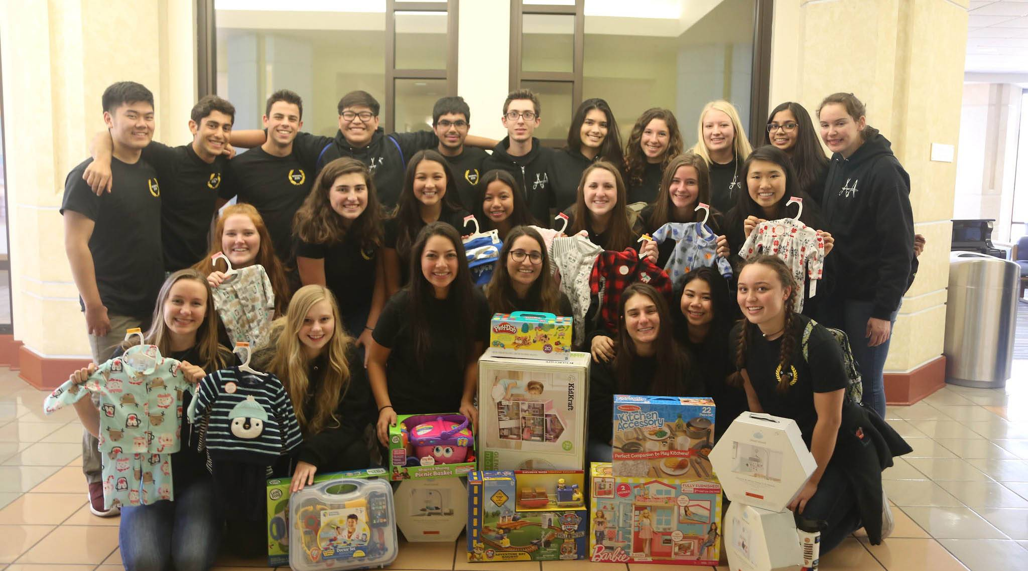 Students from Westlake High School Visit, donate gifts to Loma Linda ...