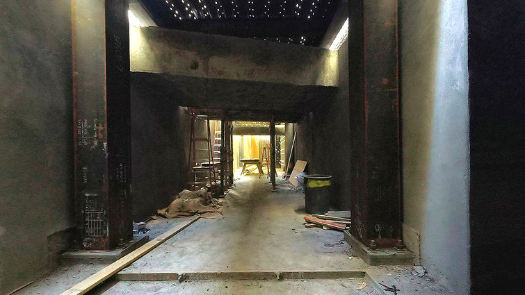 New tunnel connects old and new hospitals