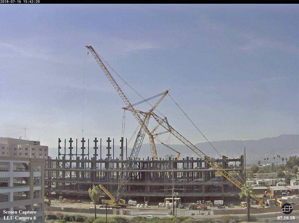 Photo of Loma Linda University Health Building under construction