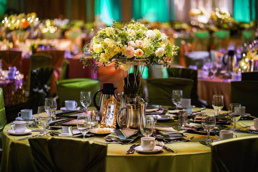 The tables were set with elegance at the 24th annual Storybook Gala.