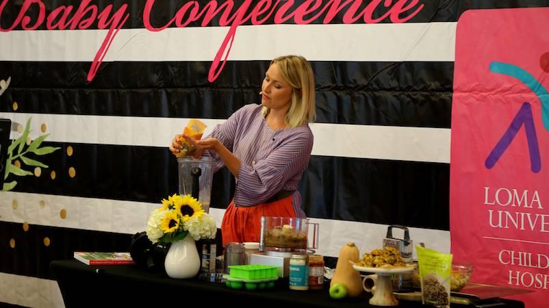 Alo Wellness food demonstration