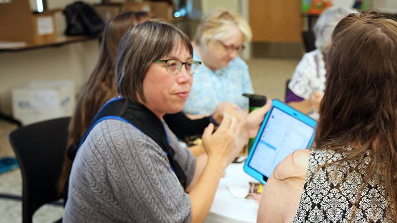 EXSEED Conference participant Laura Bowlby, MA, teaches in a one-room school in Cave Junction, Oregon.