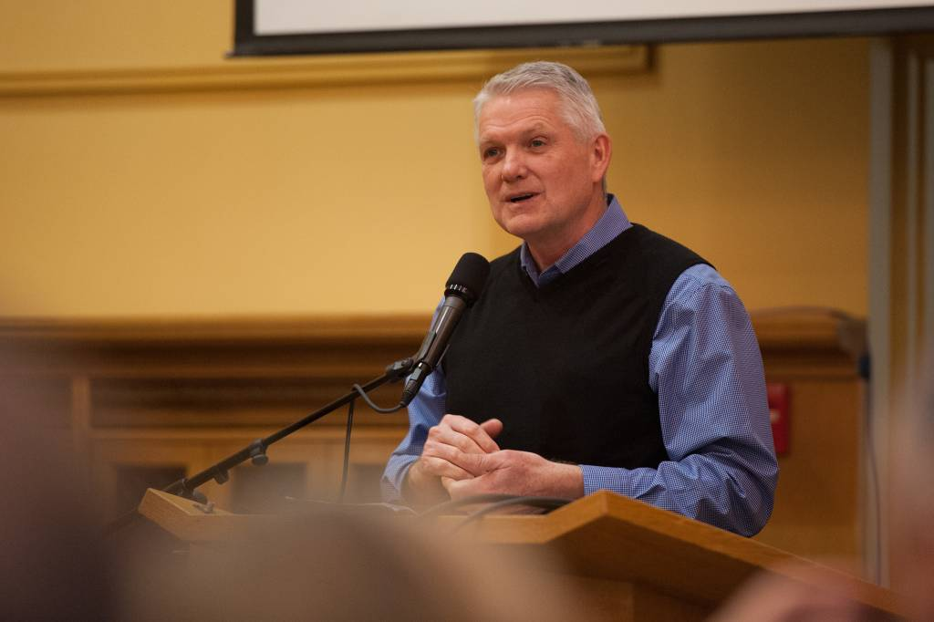 Gale Crosby, vice president of education for the Oregon Conference, celebrated the training and support his educators have received through the EXSEED program.