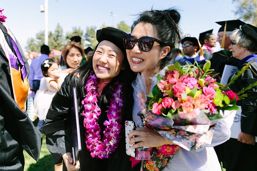 Completing a graduate degree is always a cause for celebration.