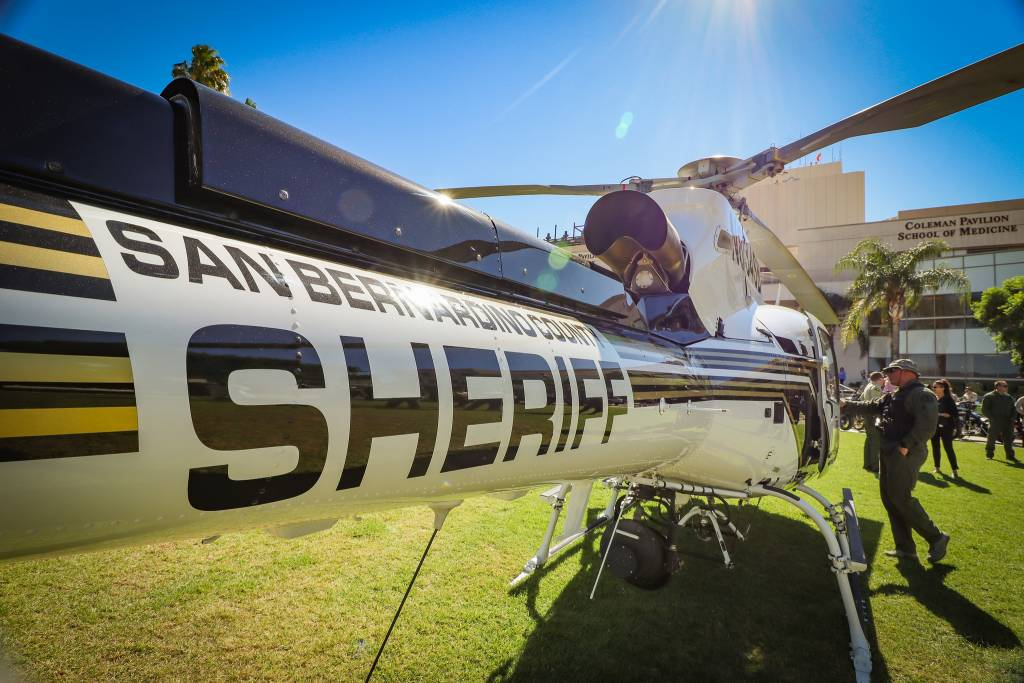 More than 20 law enforcement agencies participated in the 20th annual Cops for Kids Fly-In