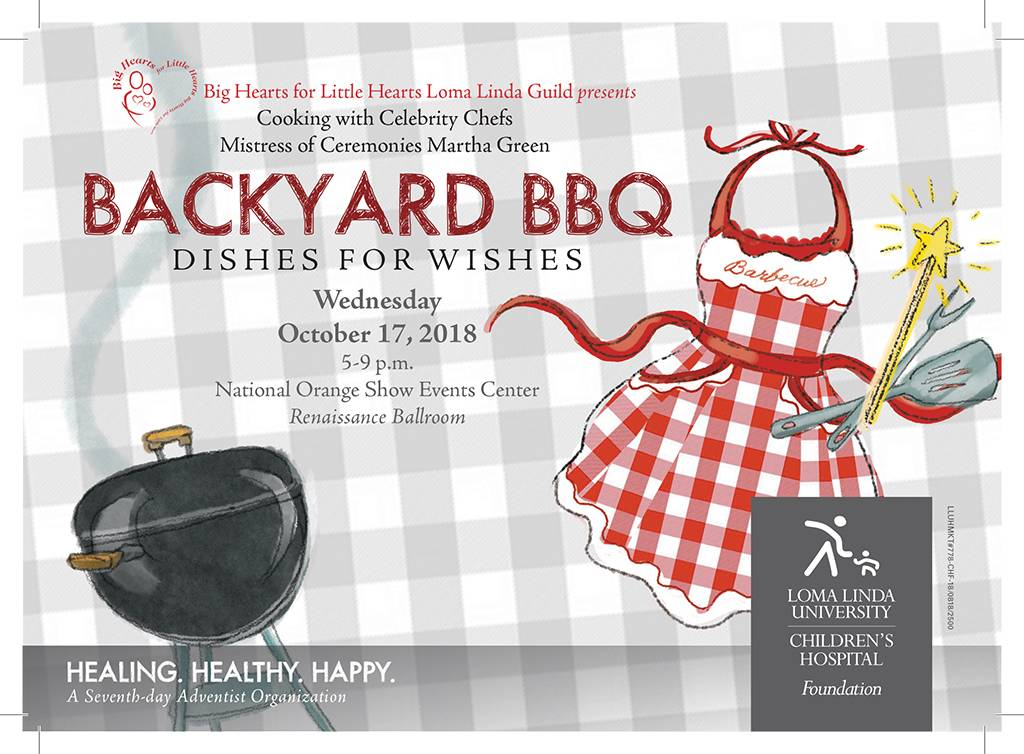 Official Backyard BBQ invitation