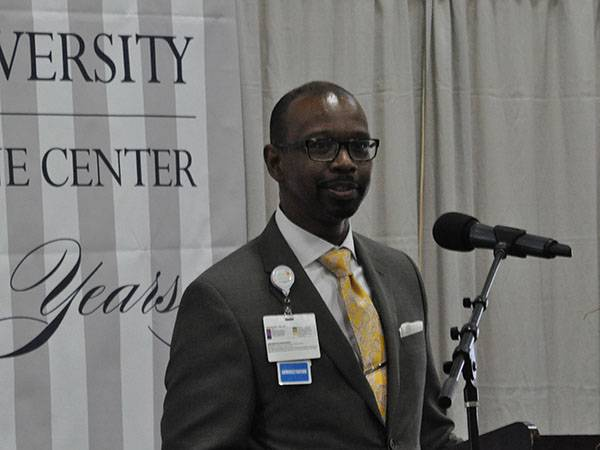 Dr. Lyndon Edwards speaks of his involvement