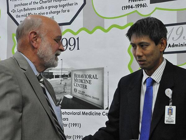 Dr. Richard Hart and Ehren Ngo