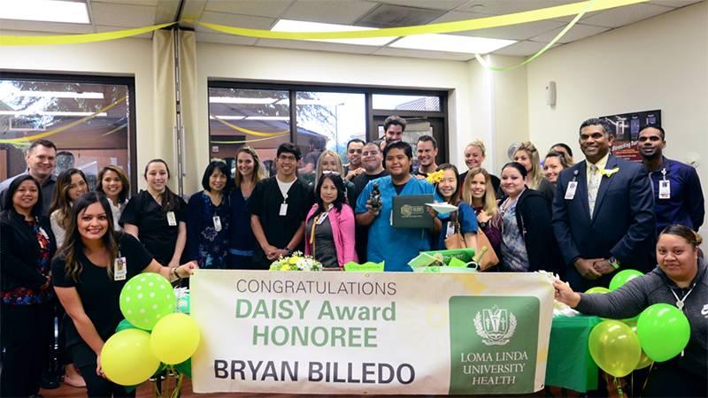 DAISY Award winner Bryan Billedo