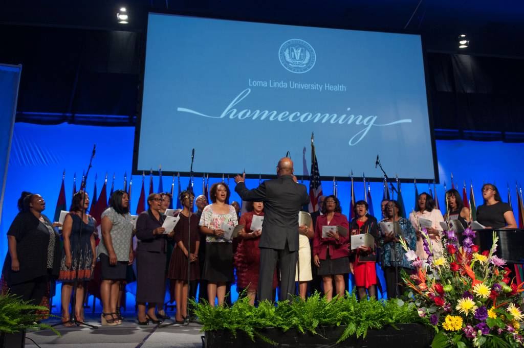 Music performers included the Black Alumni of Loma Linda Chorale.