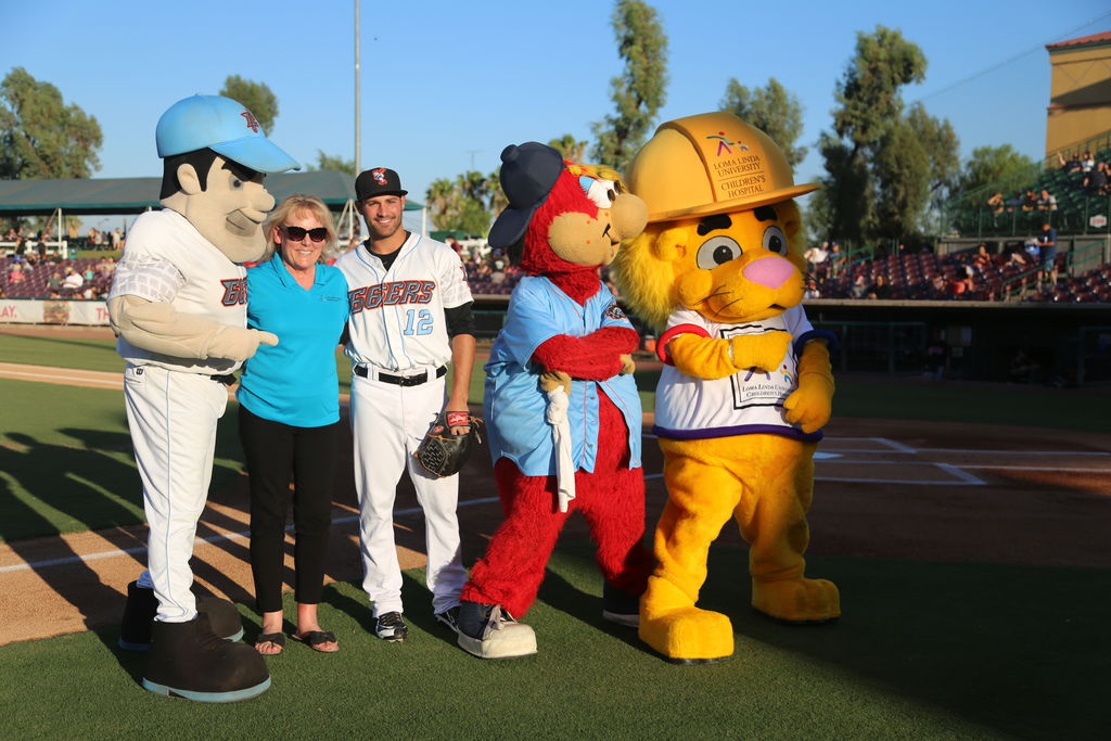All Star Appreciation night for staff, volunteers and students of Loma Linda University Health.